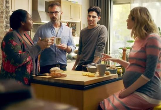 Lipton heisst Willkommen: Die ganze Welt in einem Haus